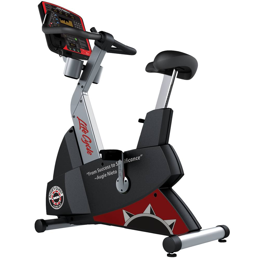 Limited Edition Augie's Quest Lifecycle Upright Exercise Bike