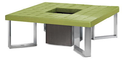 Square Upholsterd Bench