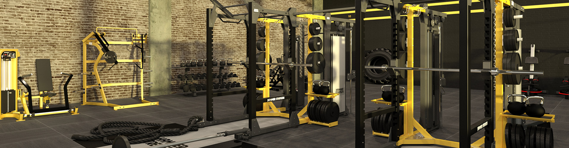 Gym Feat Hammer Strength Ground Base Hd Elite Racks H1