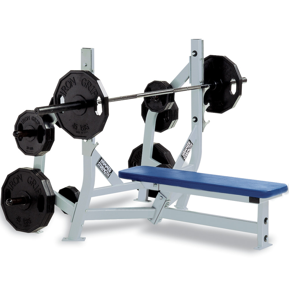 Awesome Hammer Strength Bench Presses Part - 11: Olympic Bench Weight Storage
