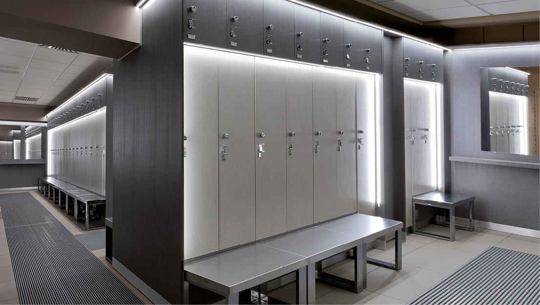 Changing Rooms Lockers Gyms Health Clubs Spawellness 4