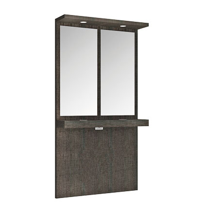 Hanging Vanity Unit With Top & Spotlights